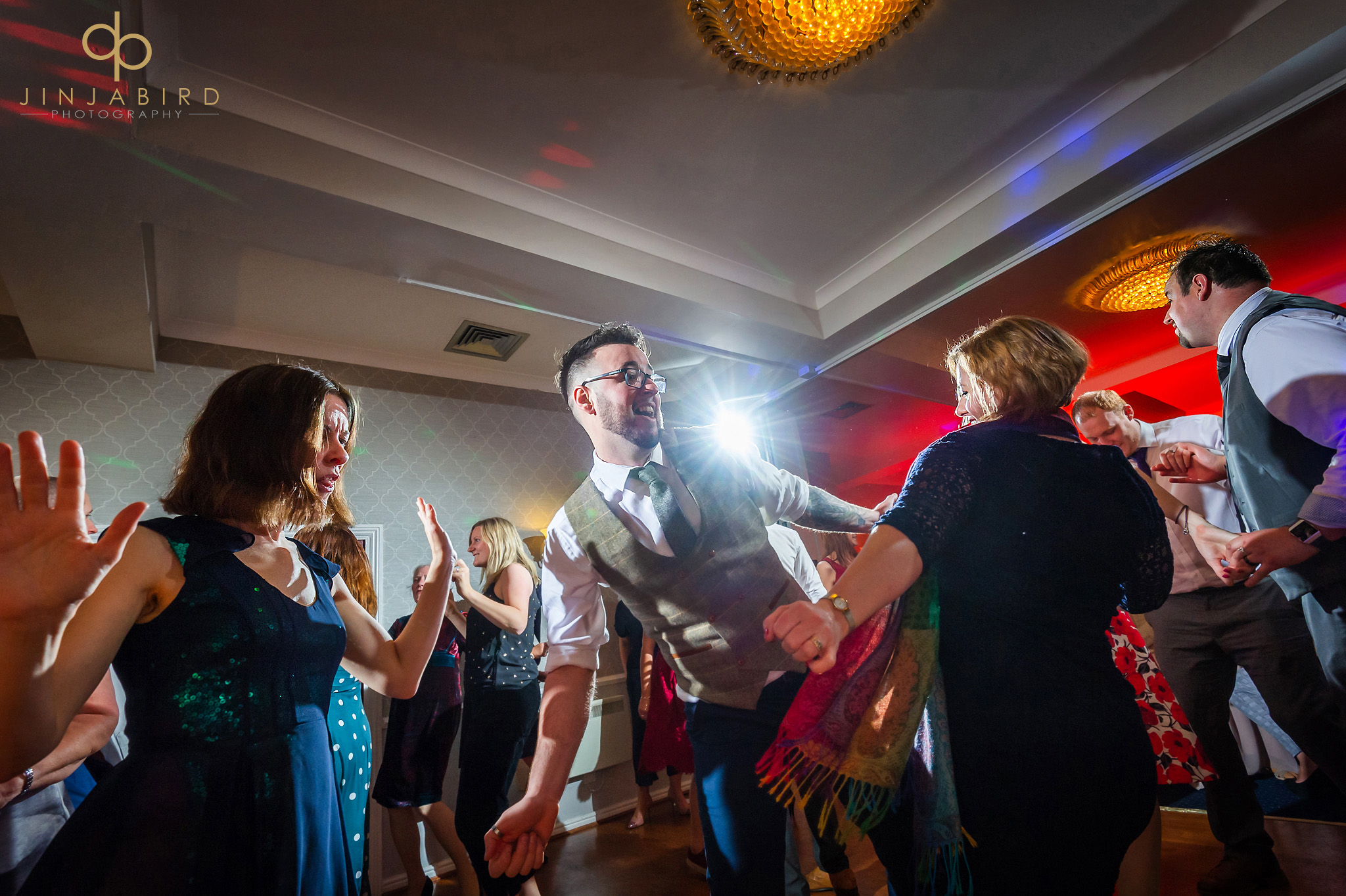 groom dancing normanton park hotel