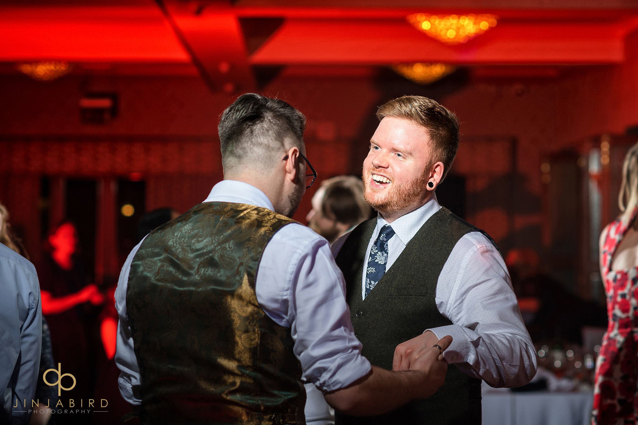 grooms dancing normanton park hotel