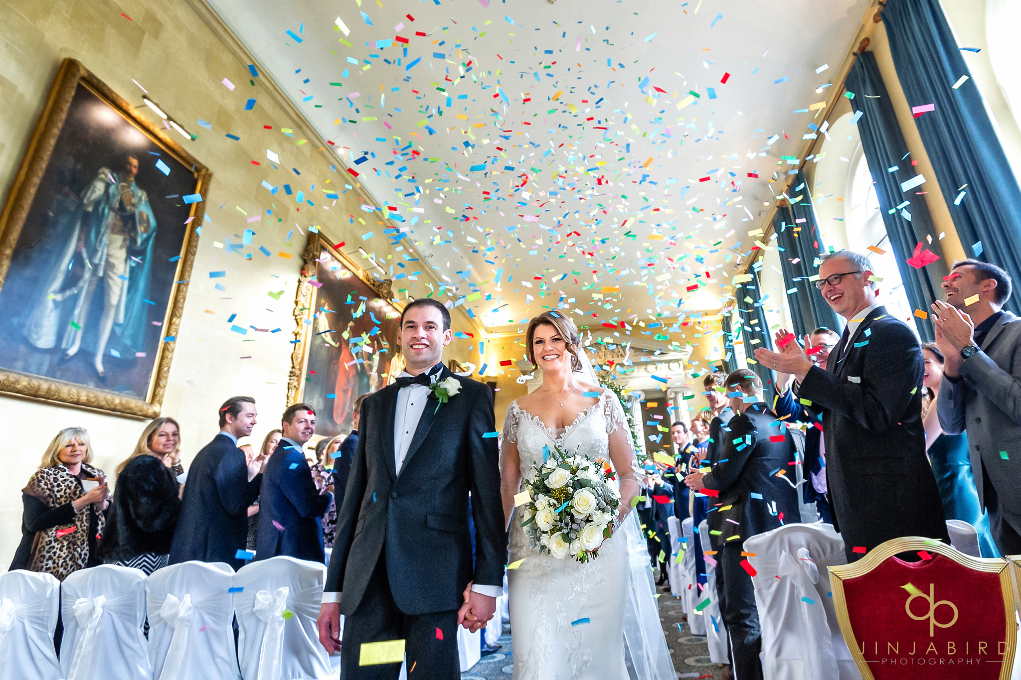 wedding confetti woburn sculpture gallery