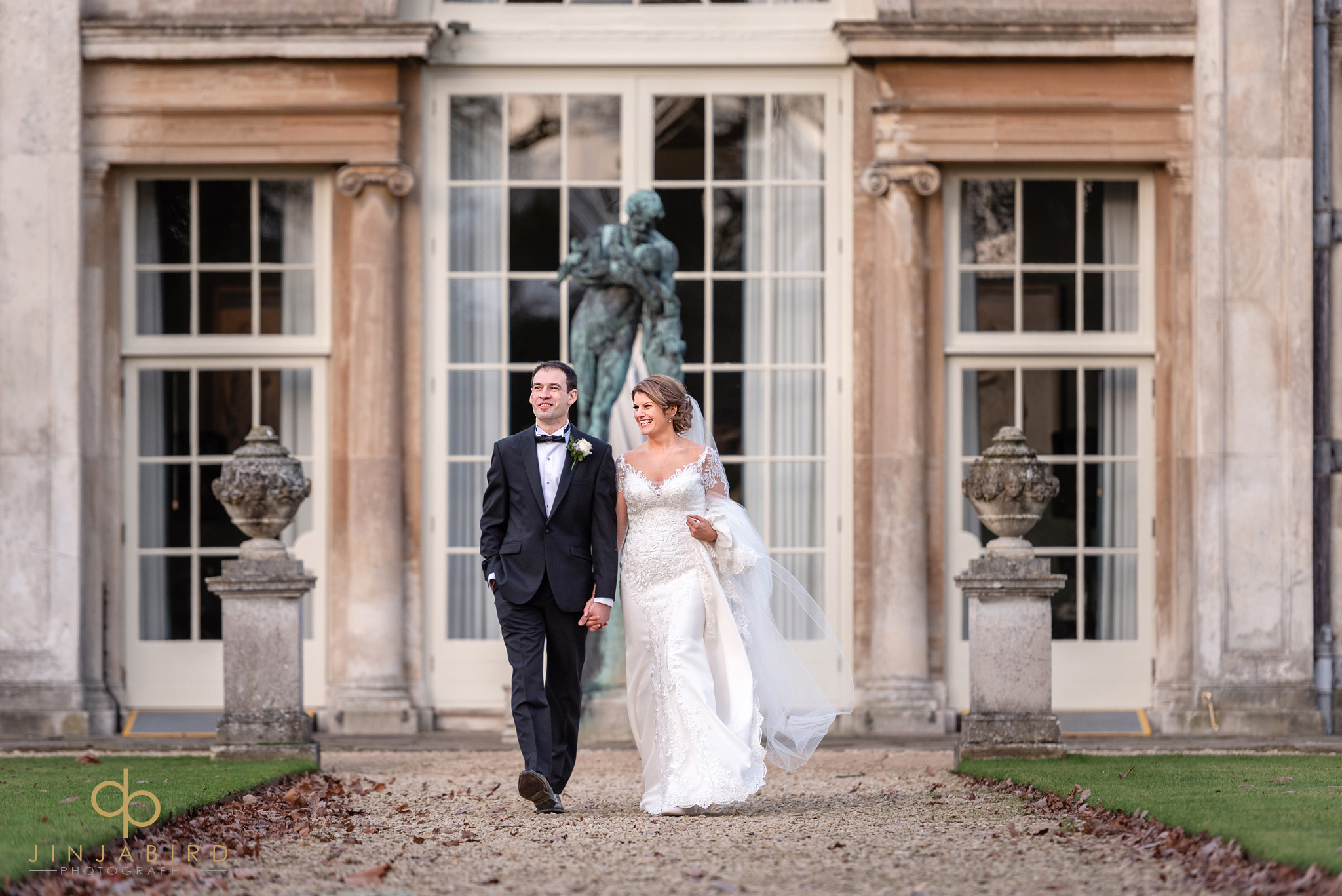woburn sculpture gallery wedding photography