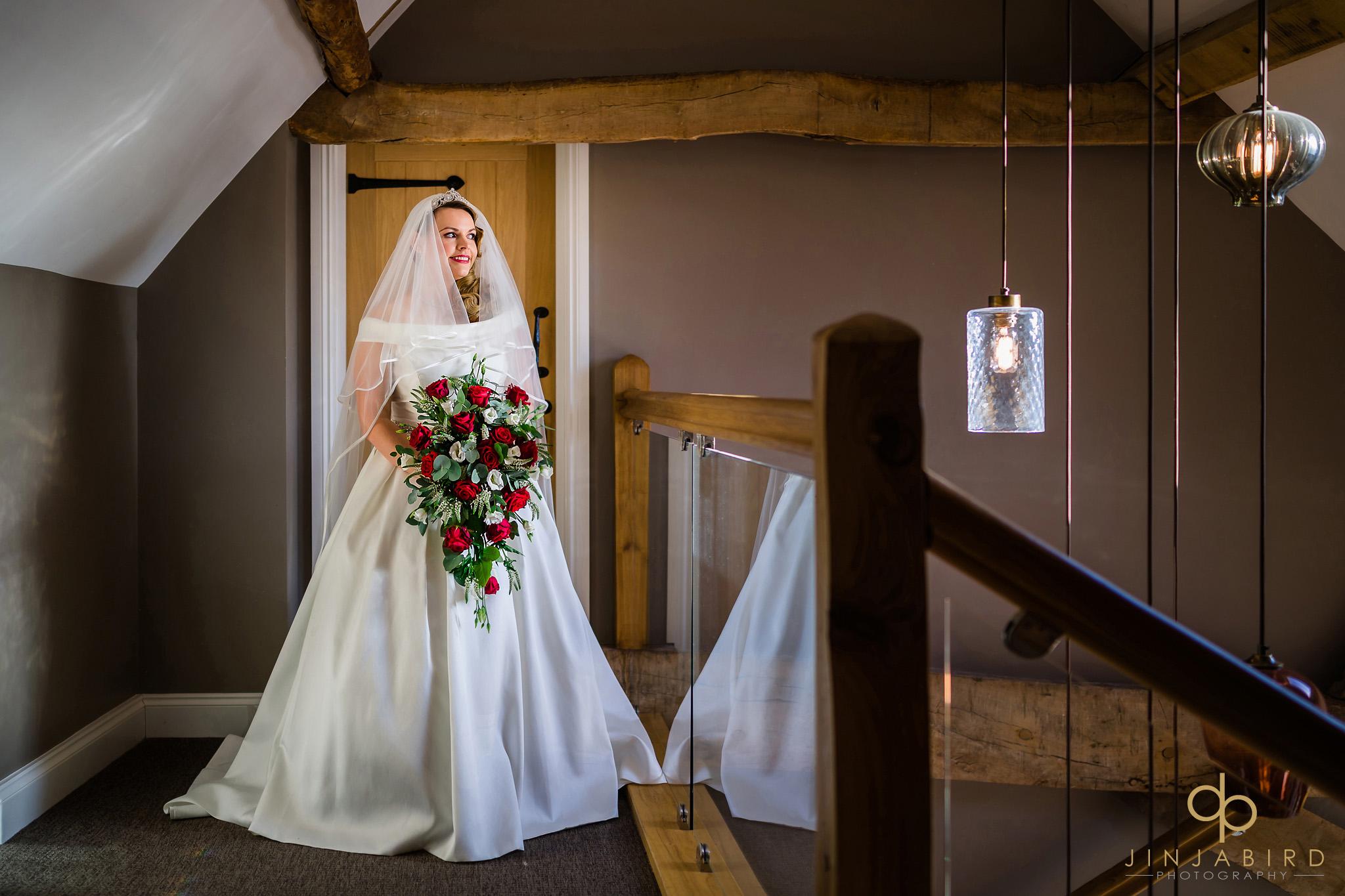 winter wedding redcoats farmhouse