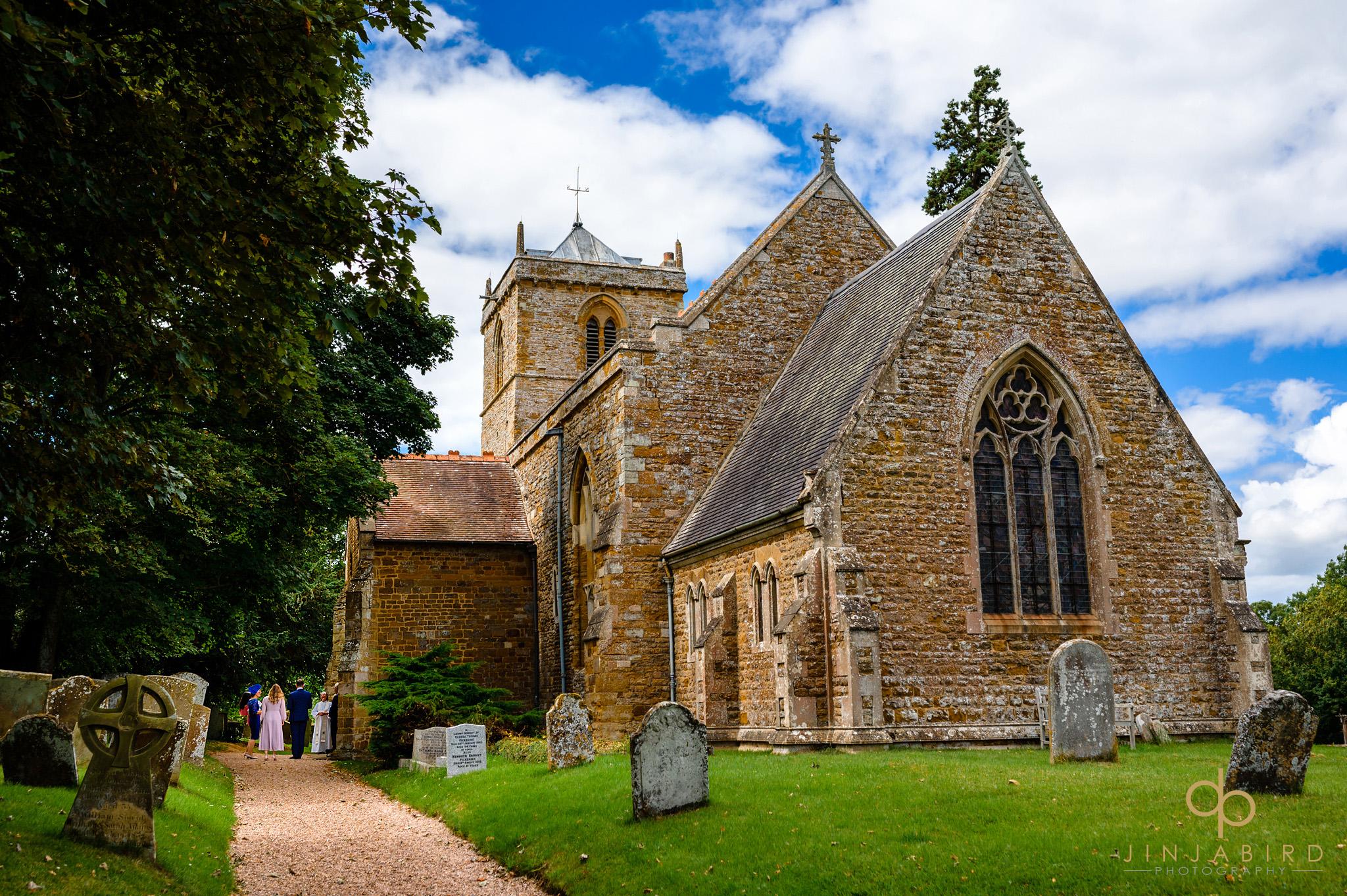 st Mary the virgin church dodford summer wedding