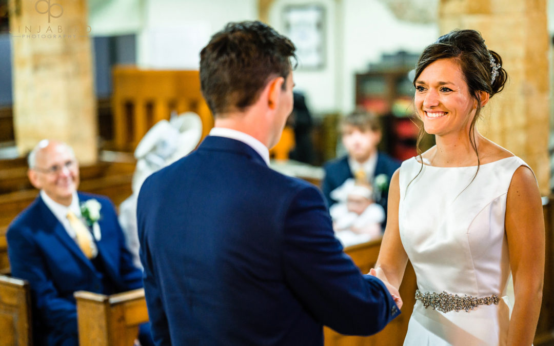 Wedding at St Mary The Virgin Church Dodford