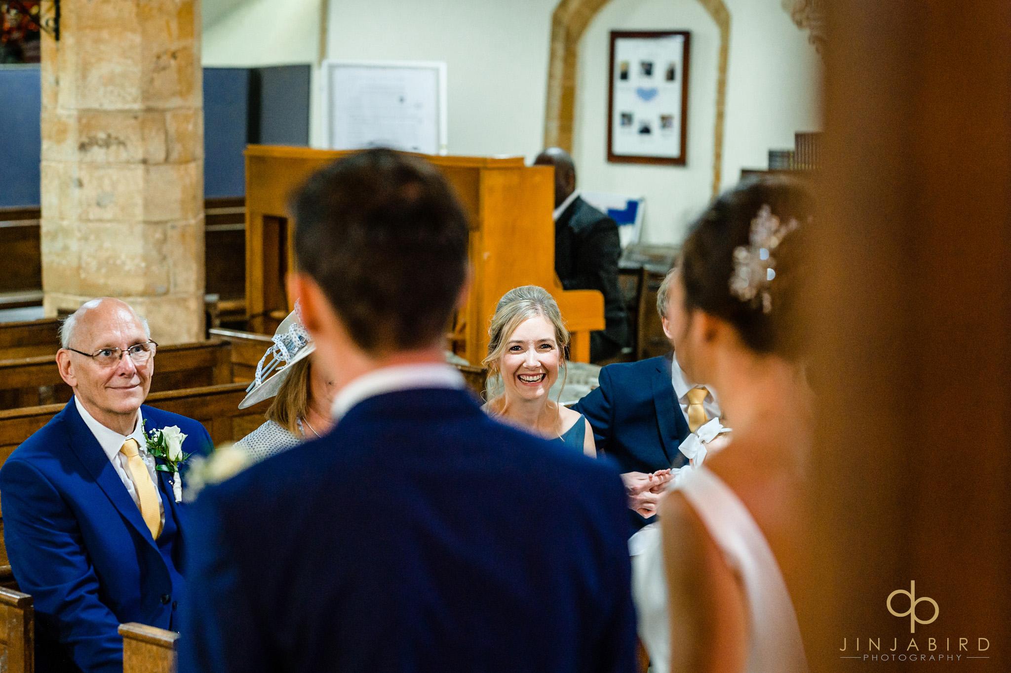 wedding service dodford church