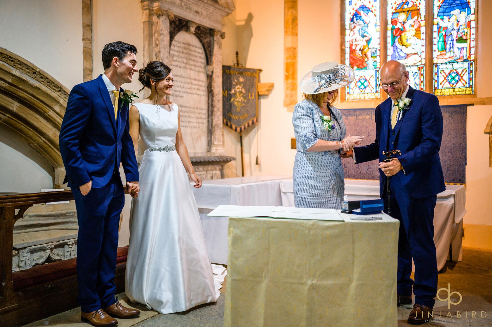 covid 19 wedding dodford church