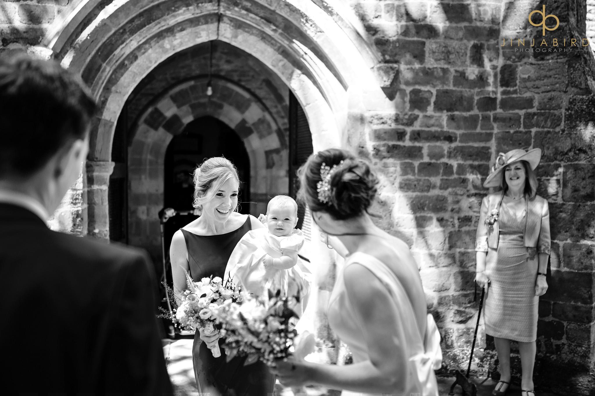 wedding at dodford church