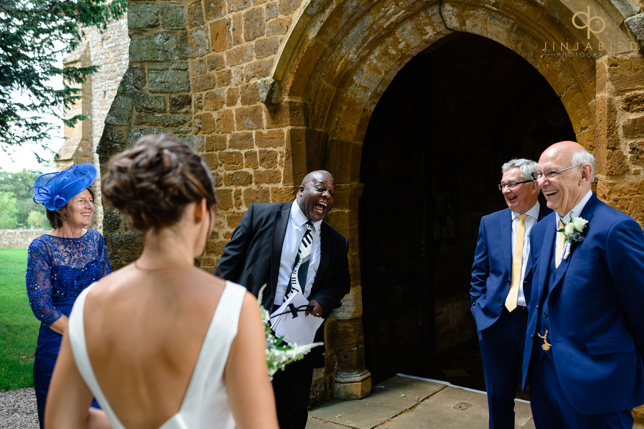 Lincoln noel at wedding dodford