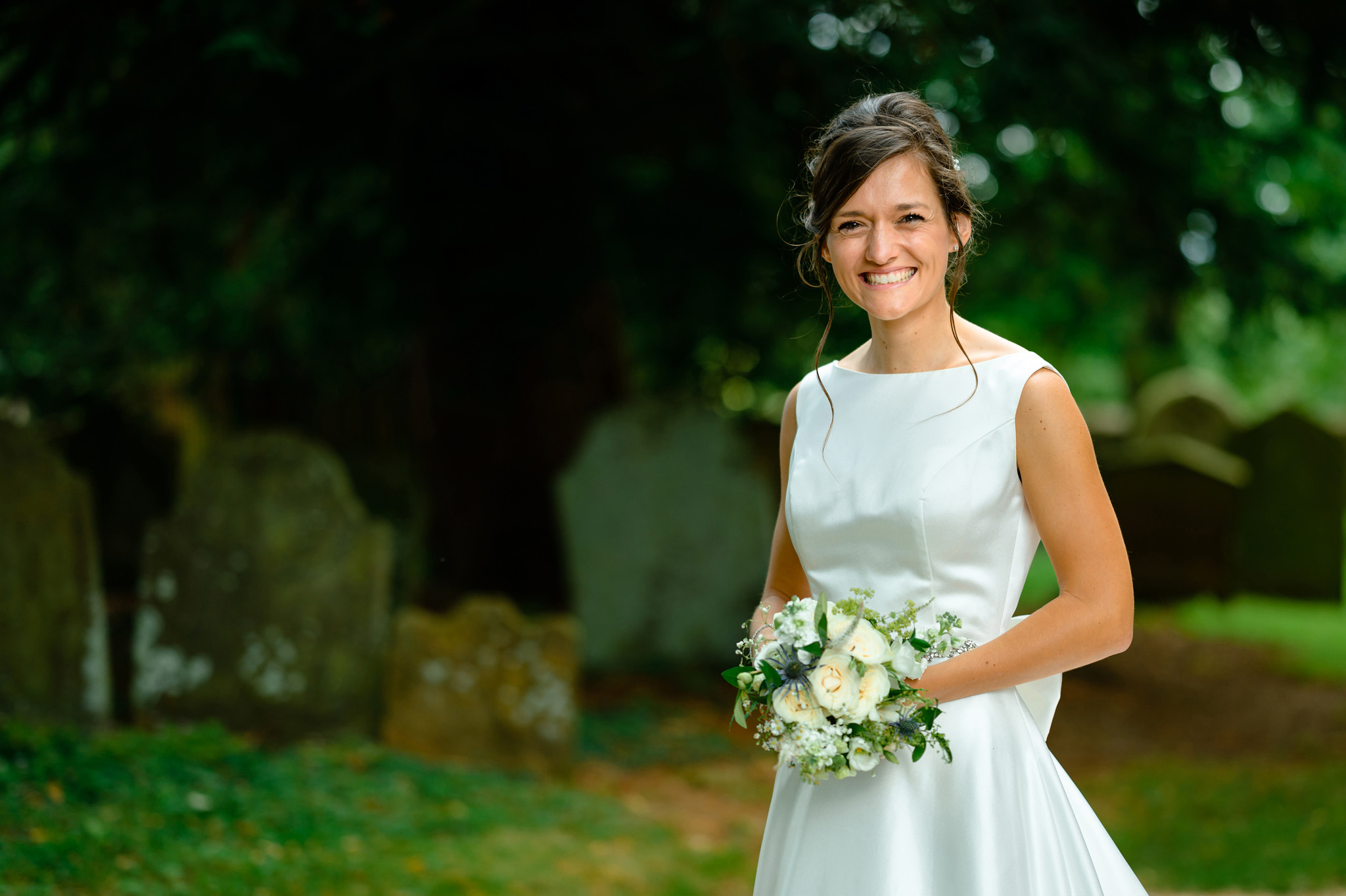 bride at dodford church