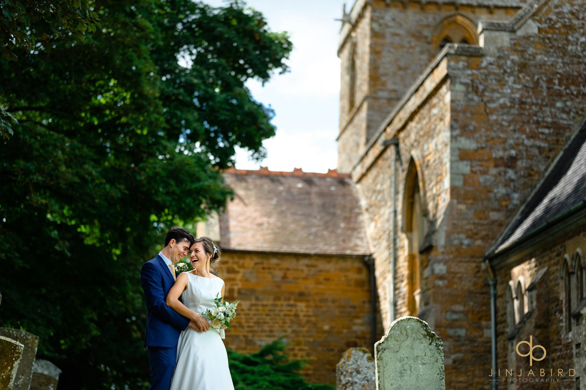 wedding photographer st Mary the virgin church dodford