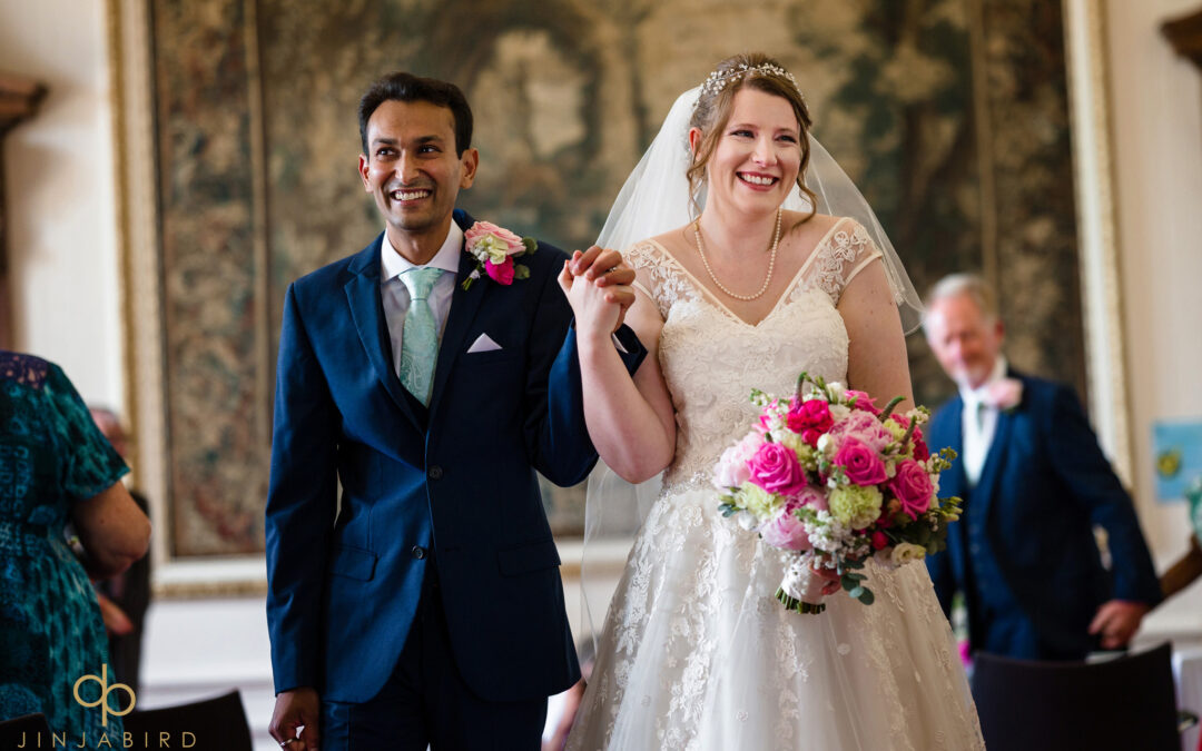 Madingley Hall Wedding Photographer