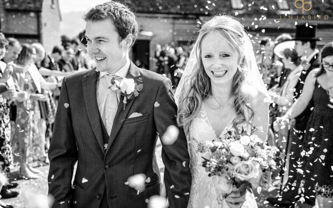 Bassmead Manor Barns August Wedding