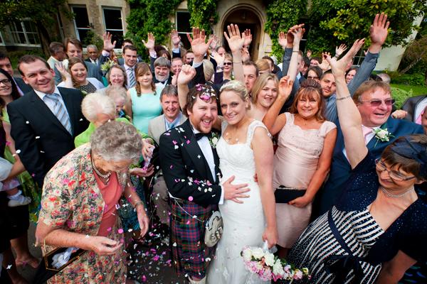 Woodlands Manor Wedding Photography – Sian & Nick