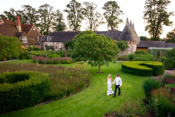 The Barn at Bury Court Wedding Photography – Francesca & Ryan