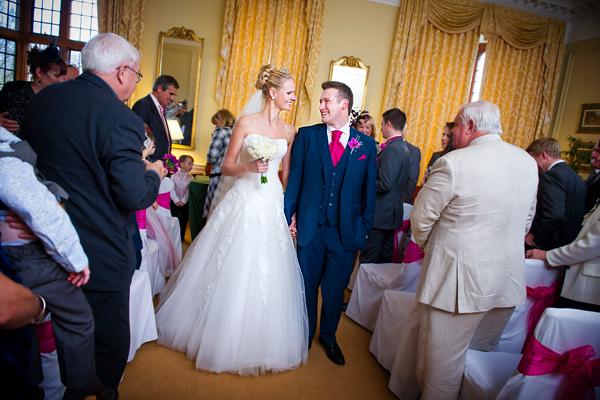 Rushton Hall Wedding Photography – Sarah & Alex