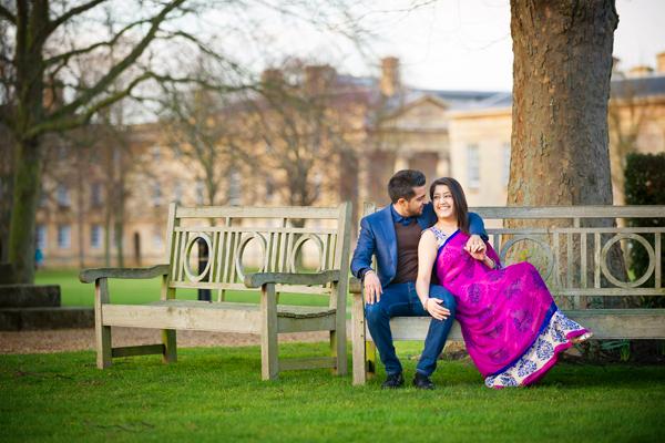 Downing College Cambridge Wedding Photography – Ravi & Harveer