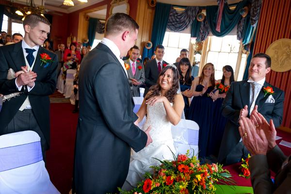 Swan Hotel Bedford Wedding Photography – Dee & Dean