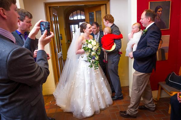 Bedford Boys School Wedding Photography – Rachel & James
