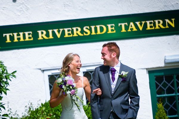 Barns Hotel Bedford Wedding Photography – Claire & James