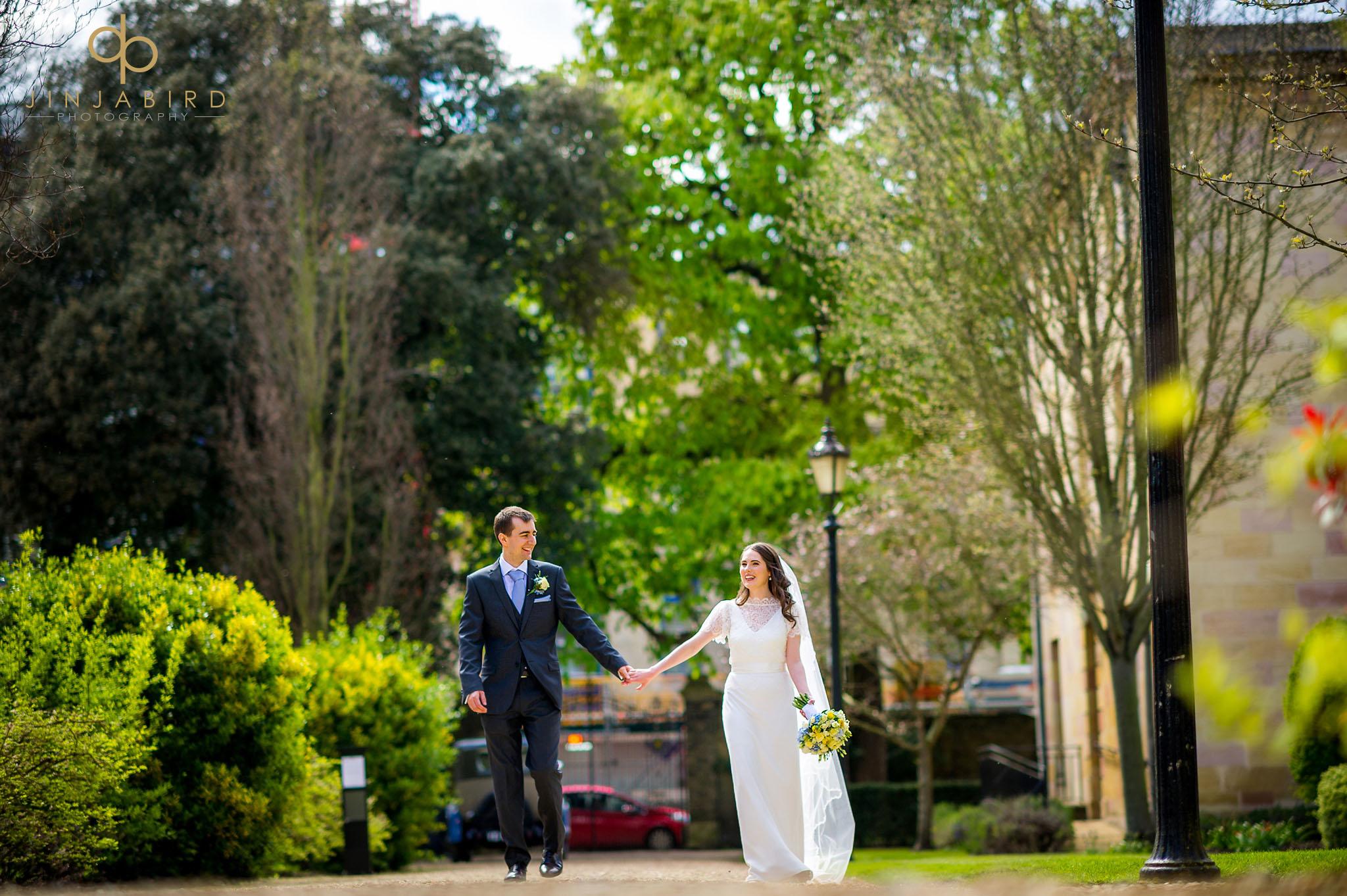 Wedding photographer Downing College