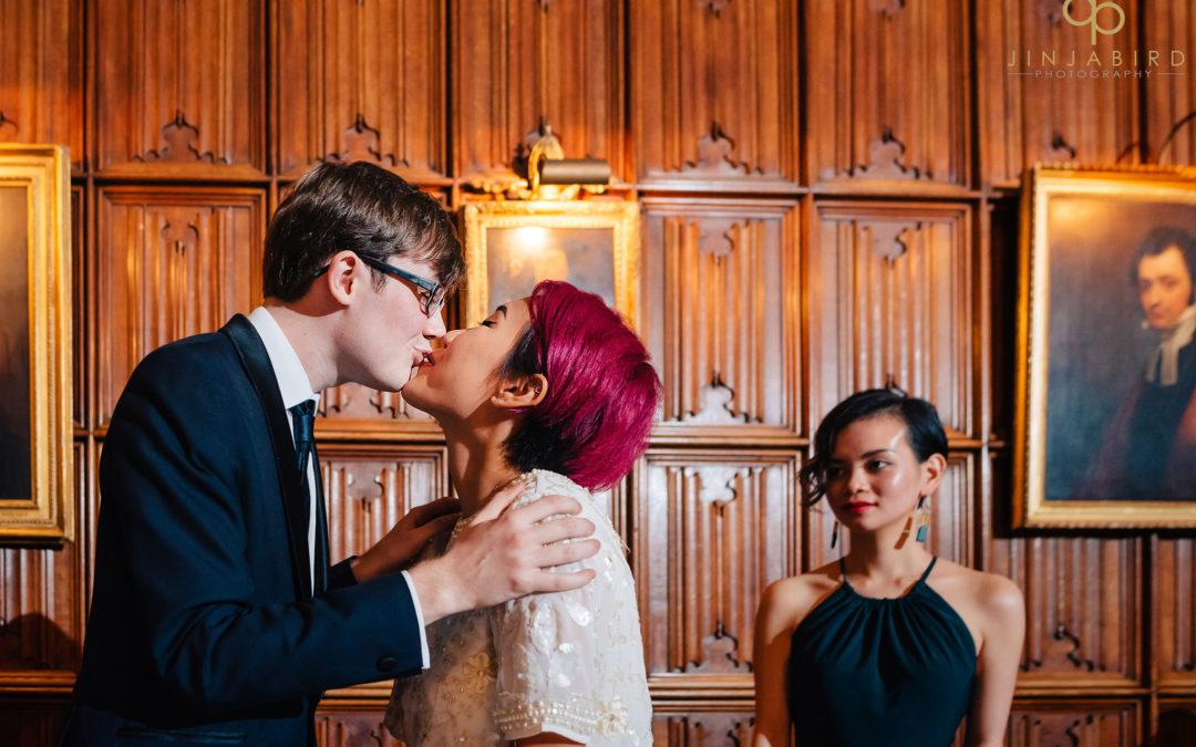 Wedding photography Corpus Christi College Cambridge