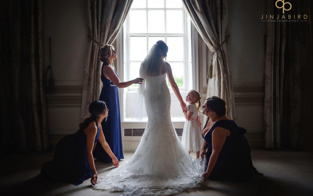 Wedding photography Chicheley Hall