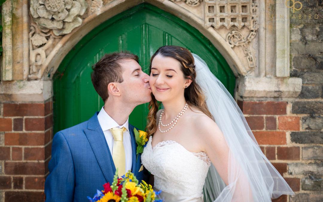 Wedding photographer Christs College Cambridge